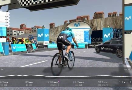 Movistar Virtual Cycling, las competiciones de ciclismo virtual han llegado 2