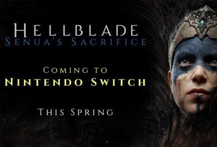 Hellblade: Senua's Sacrifice llegará a Nintendo Switch en primavera 2
