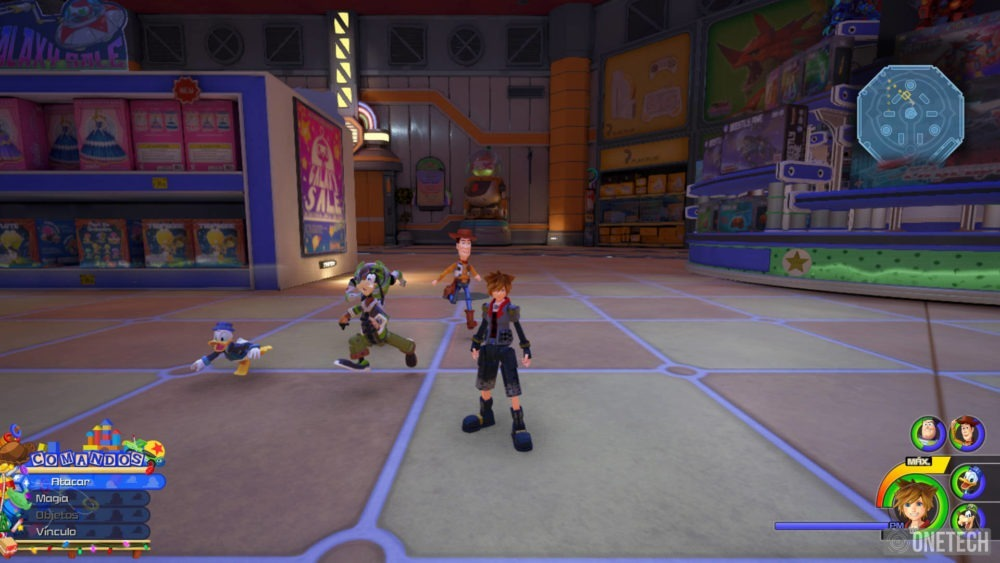 Kingdom Hearts III, una fusión que no pierde fuerza - Análisis 11
