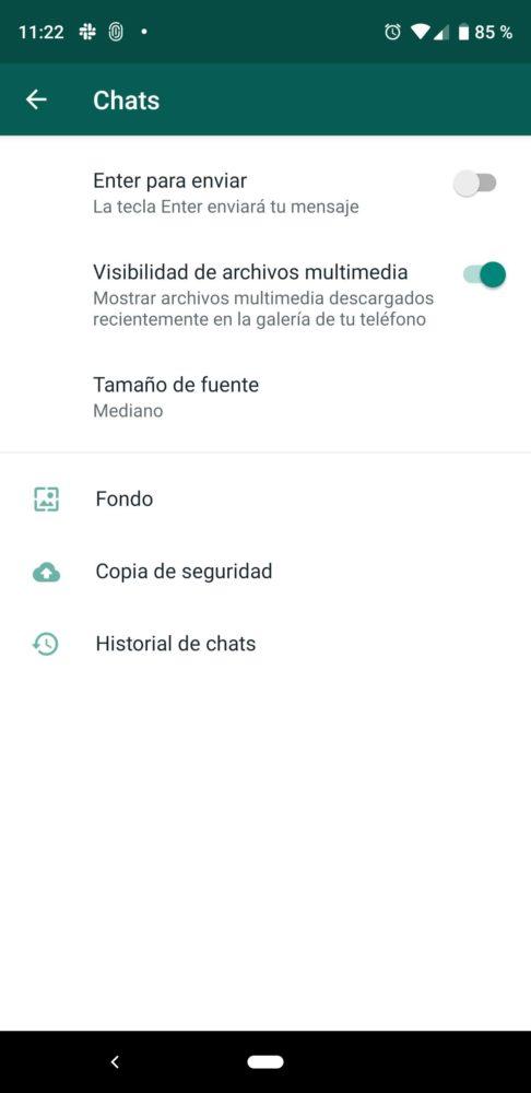 WhatsApp actualiza su interfaz en la ultima beta 1