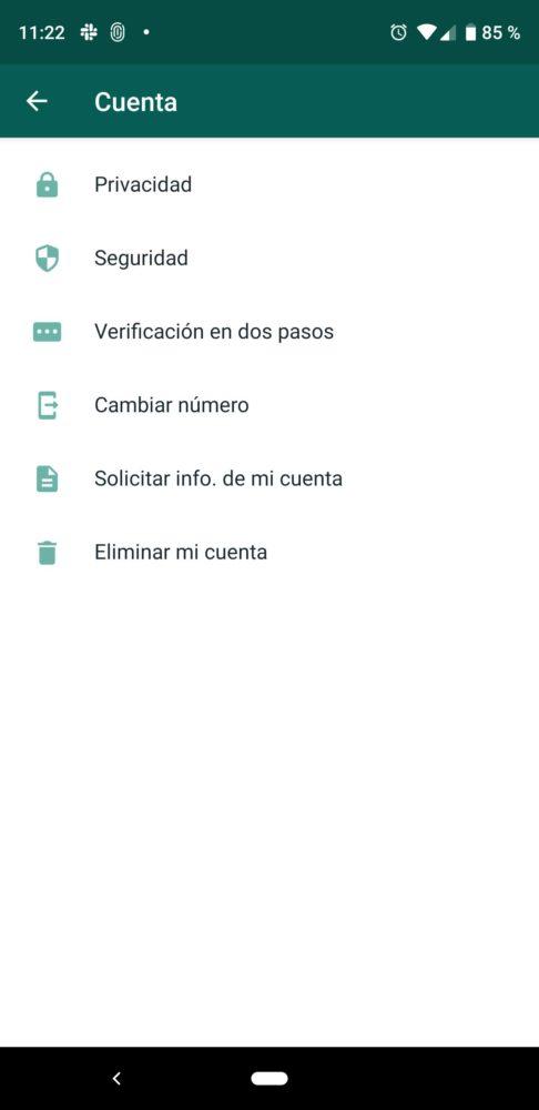 WhatsApp actualiza su interfaz en la ultima beta 2