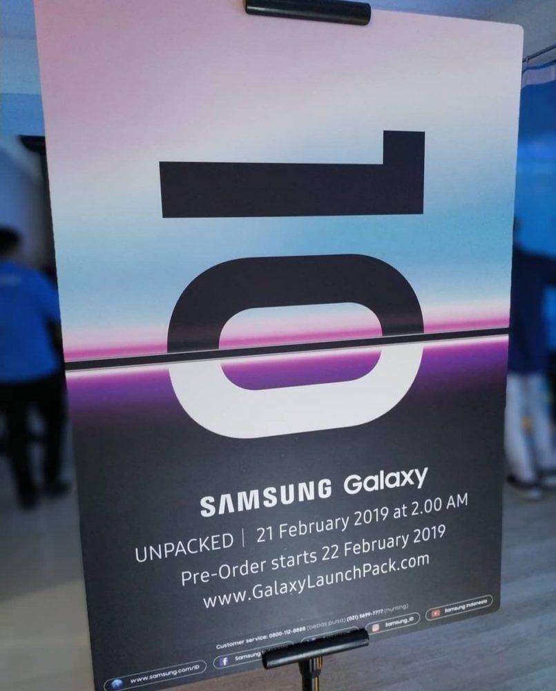 Ya sabemos cuándo comenzará las reservas de los Galaxy S10 1