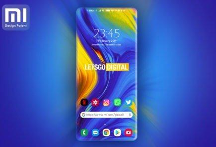 Xiaomi patenta un smartphone con pantalla sin bordes 5
