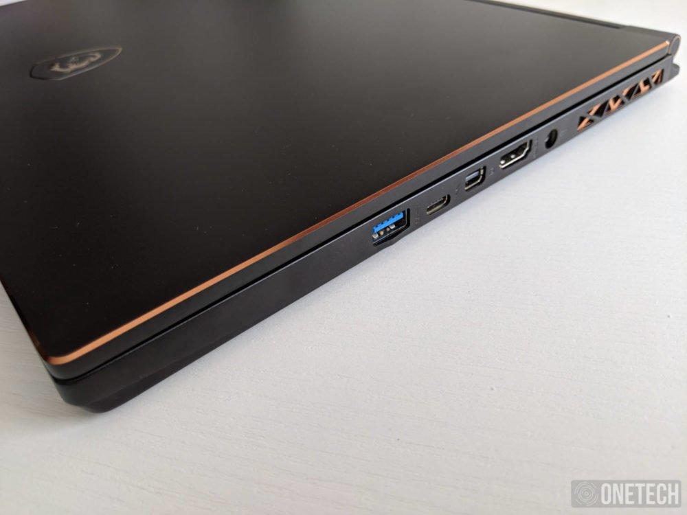 MSI GS65 Stealth 8SG, probamos este portátil gamer con gráfica GeForce RTX 2080 12