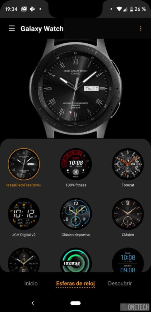 Samsung Galaxy Watch, este es nuestro análisis 36