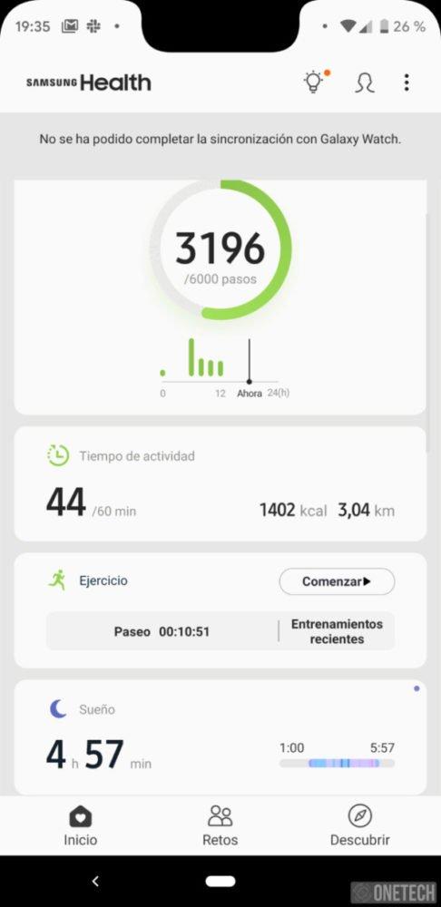 Samsung Galaxy Watch, este es nuestro análisis 39