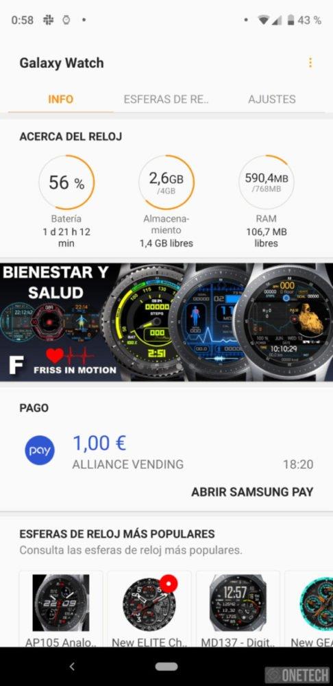 Samsung Galaxy Watch, este es nuestro análisis 31