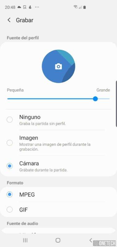 Como grabar la pantalla de tu Samsung Galaxy S10 4