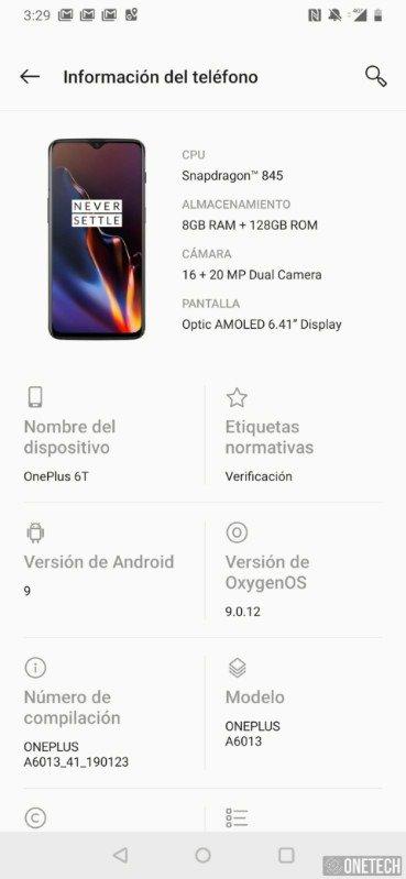 OnePlus 6T, análisis y opinión tras su uso a fondo 14