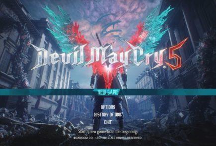 devil may cry 5 portada