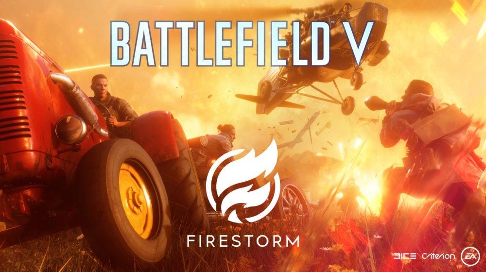 Firestorm el Battle Royale de Battlefield V