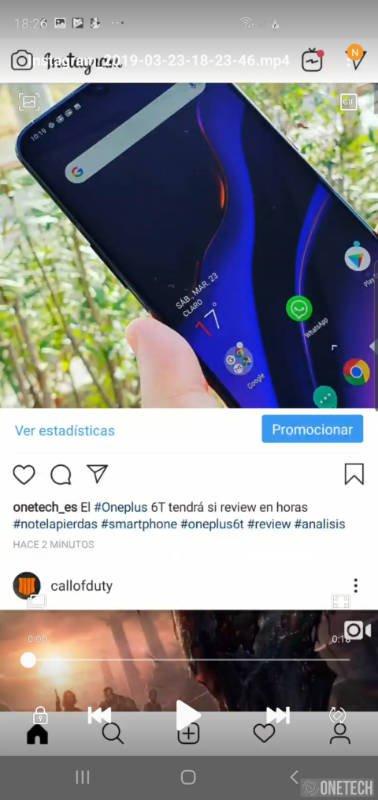 Como grabar la pantalla de tu Samsung Galaxy S10 3