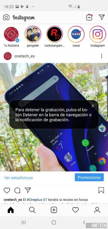Como grabar la pantalla de tu Samsung Galaxy S10 2
