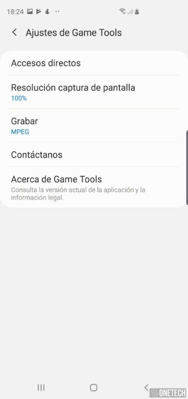 Como grabar la pantalla de tu Samsung Galaxy S10 9