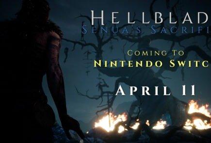 Hellblade: Senua's Sacrifice llegará a Nintendo Switch el 11 de Abril 1