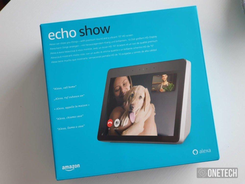Echo Show - paquete