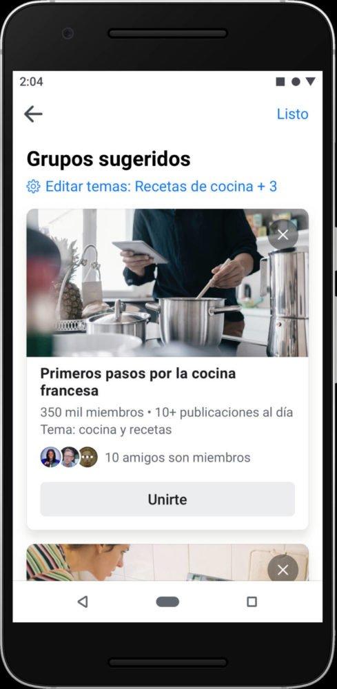 Facebook cambiará para dar más protagonismo a los grupos 3