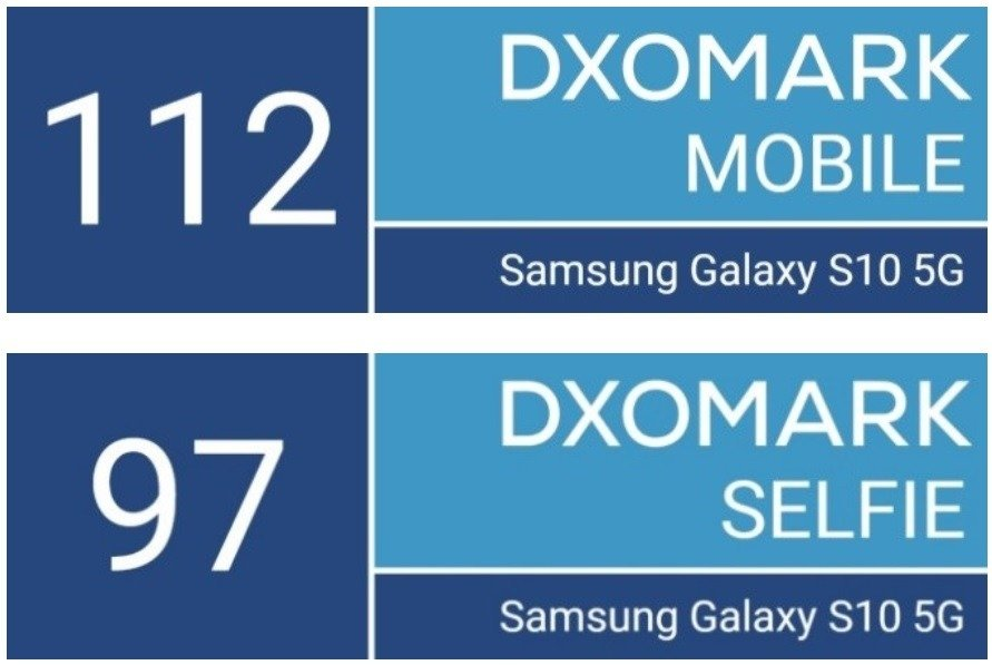 Samsung Galaxy S10 5G alcanza el primer puesto en el ranking DxOMark 1