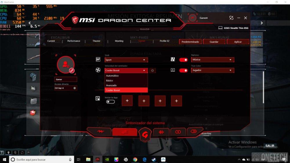 MSI GS65 Stealth 8SG, probamos este portátil gamer con gráfica GeForce RTX 2080 18