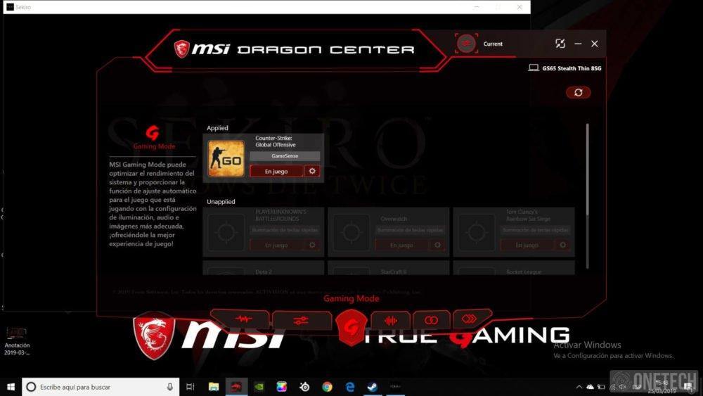 MSI GS65 Stealth 8SG, probamos este portátil gamer con gráfica GeForce RTX 2080 30