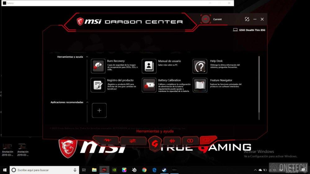 MSI GS65 Stealth 8SG, probamos este portátil gamer con gráfica GeForce RTX 2080 27