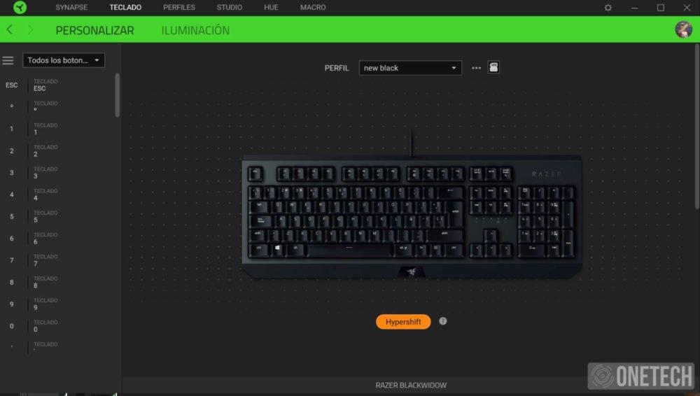 Nuevo teclado Razer BlackWidow, bajando el precio pero no la calidad 5