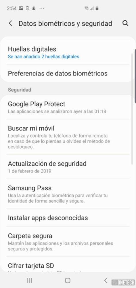 Samsung Galaxy S10+, lo probamos y analizamos al detalle 16