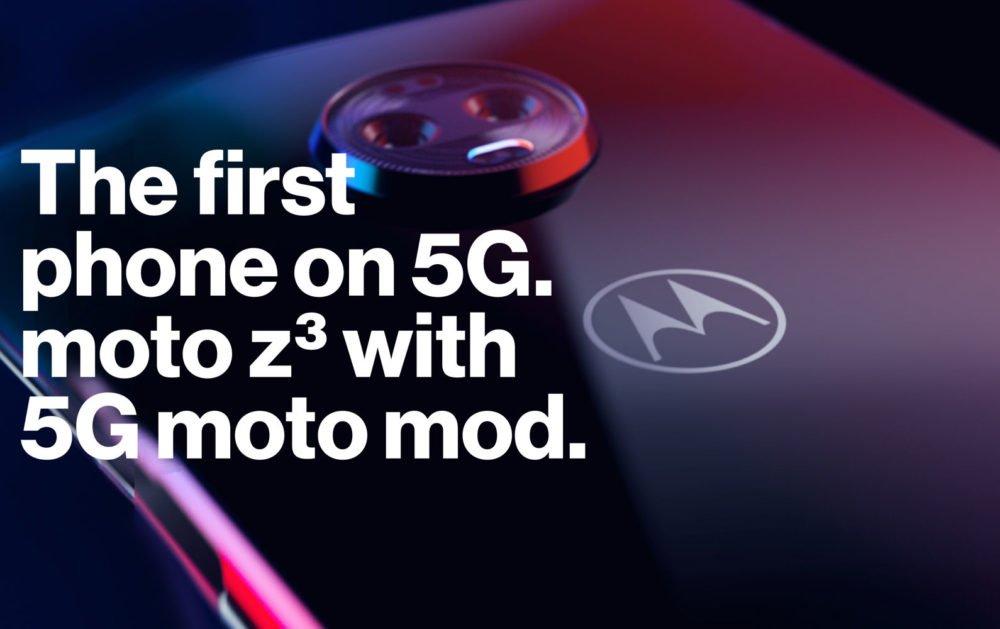 Moto Z3 mod 5g