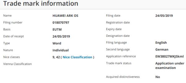 ARK OS podría ser el nombre final de Hongmeng, el sistema de Huawei 1