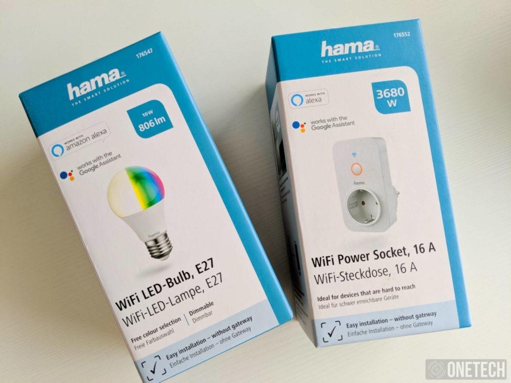 bombillas y enchufes inteligentes de Hama