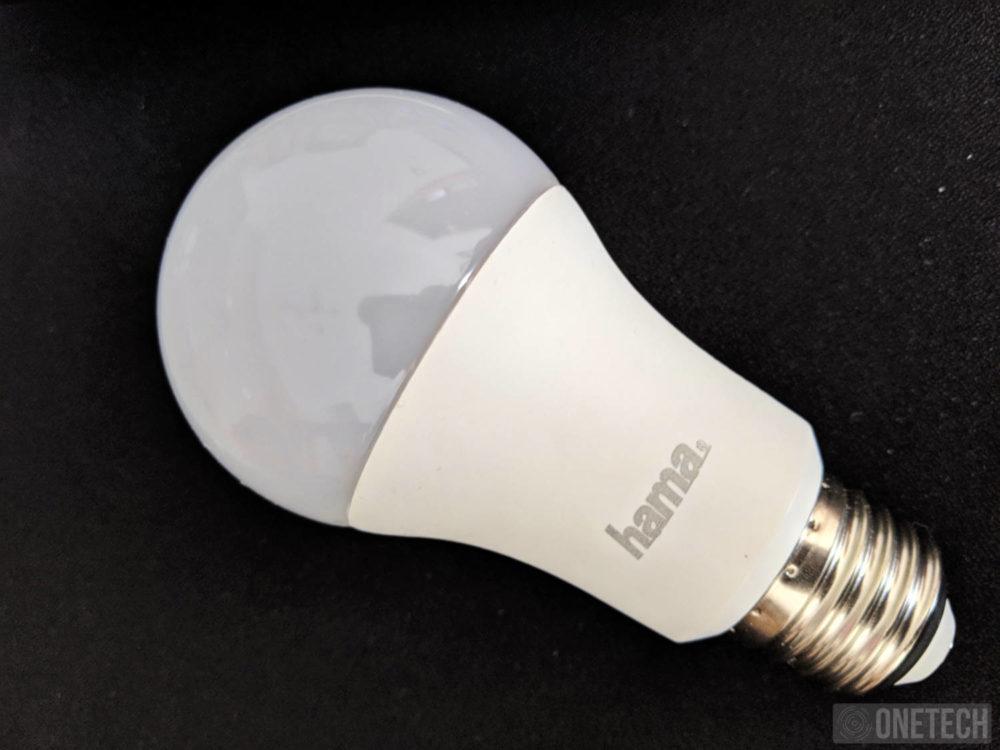 Bombilla WiFi-LED de Hama, E27, 10W, RGB [00176547]