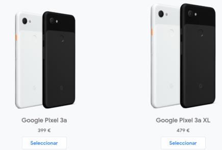 Google Pixel 3a en España