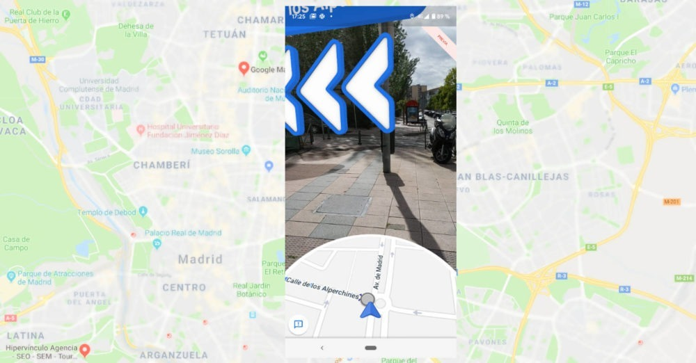 Mapas Live View