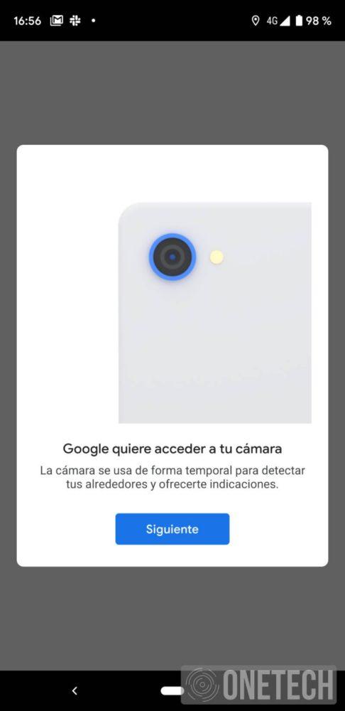 Realidad Aumentada de Google Maps