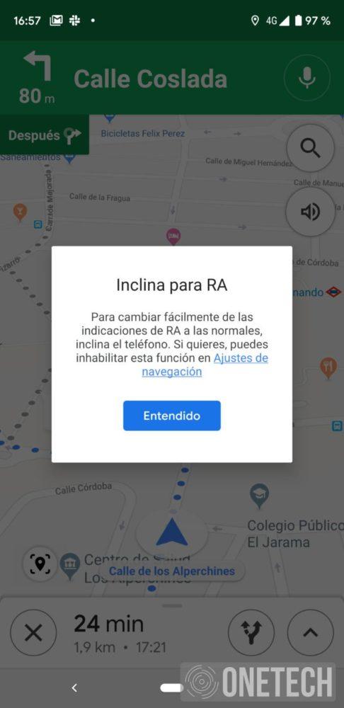 Te mostramos la Realidad Aumentada de Google Maps 1
