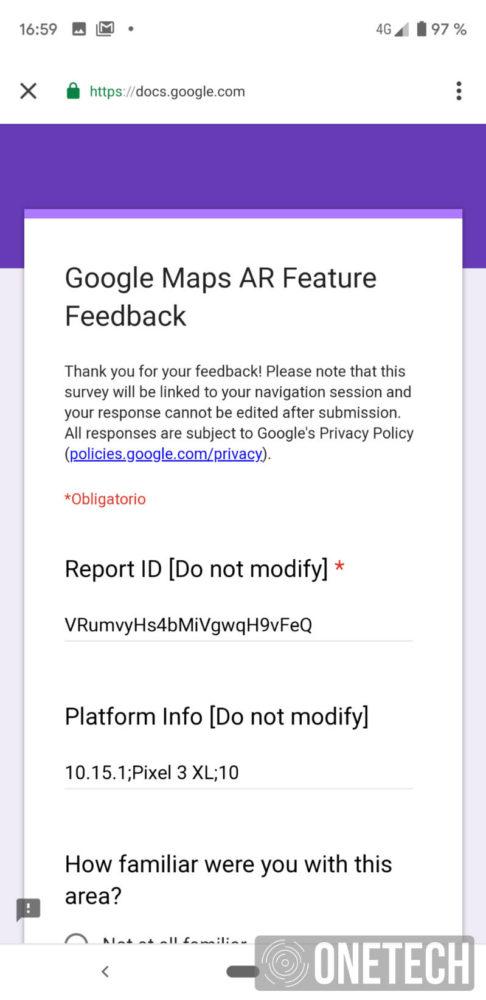 Te mostramos la Realidad Aumentada de Google Maps 4