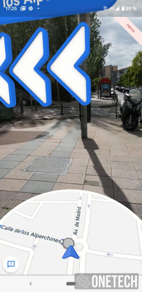 Te mostramos la Realidad Aumentada de Google Maps 3