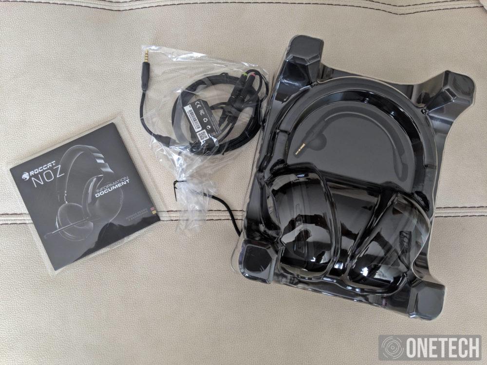 Roccat Noz, analizamos estos auriculares Gamer ultraligeros 1