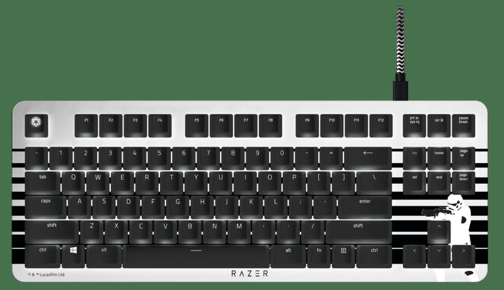 teclado Razer BlackWidow Lite Stormtrooper Edition