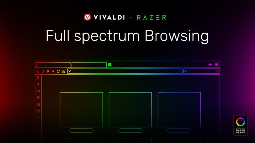 Vivaldi ahora controla el color de tus accesorios Razer