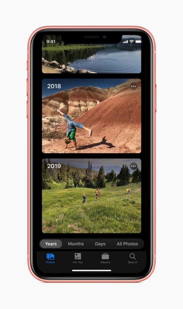 Nuevo iOS 13, llega el modo oscuro y escritura por deslizamiento 1