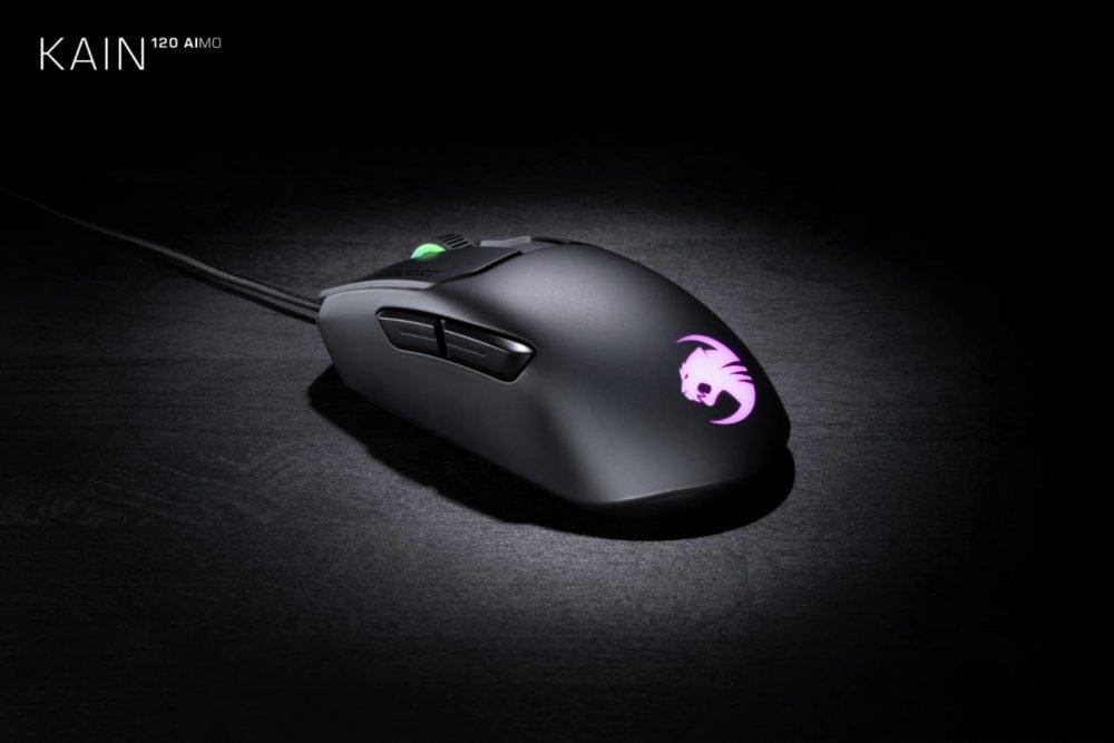 Roccat presenta su nueva serie de ratones Kain AIMO 6