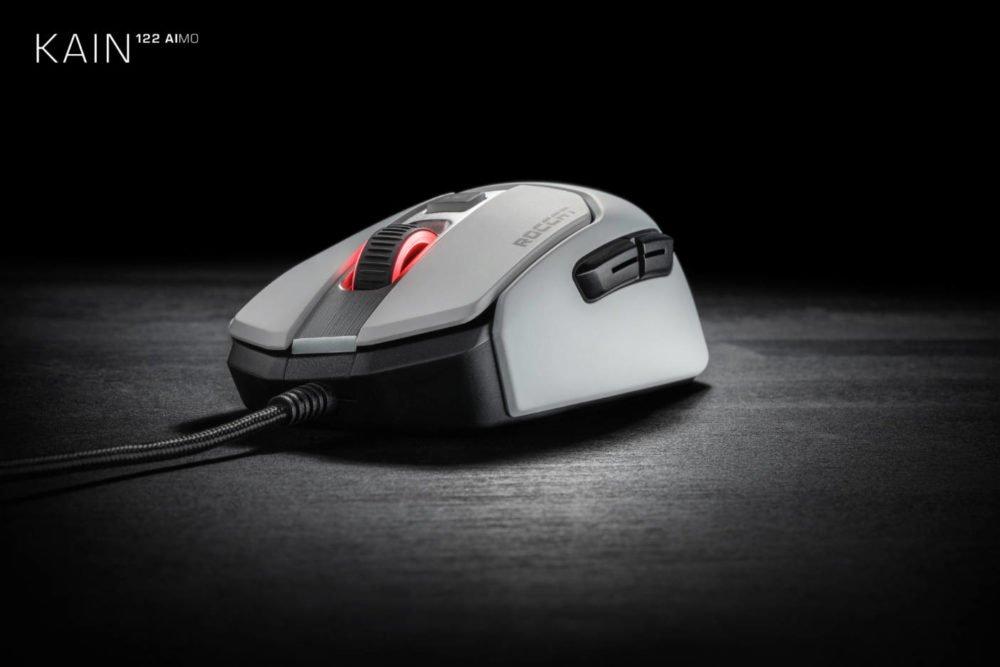 Roccat presenta su nueva serie de ratones Kain AIMO 5