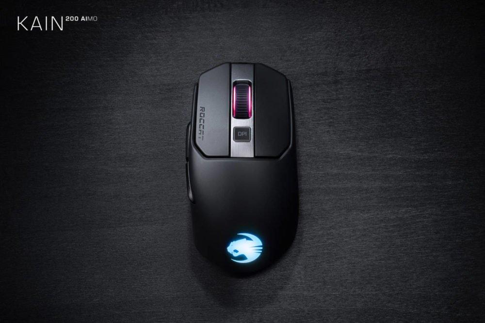 Roccat presenta su nueva serie de ratones Kain AIMO 1