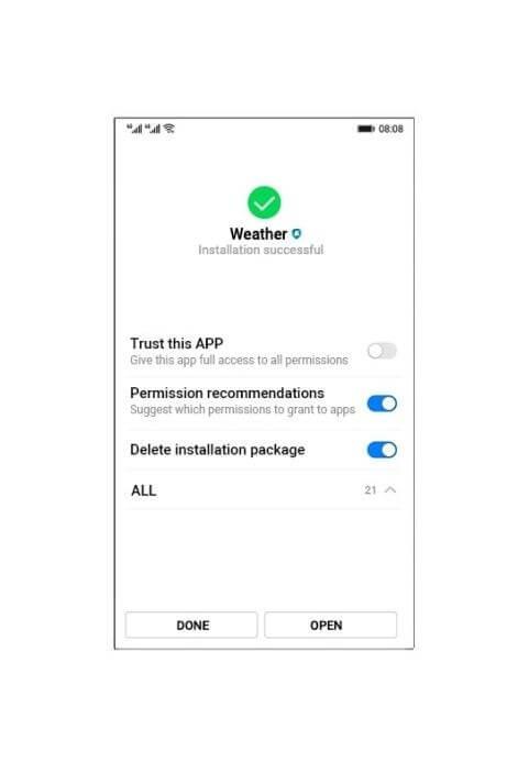 Primeras imágenes del sistema operativo de Huawei 13