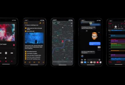 Apple nos muestra un avance del modo oscuro de iOS 13