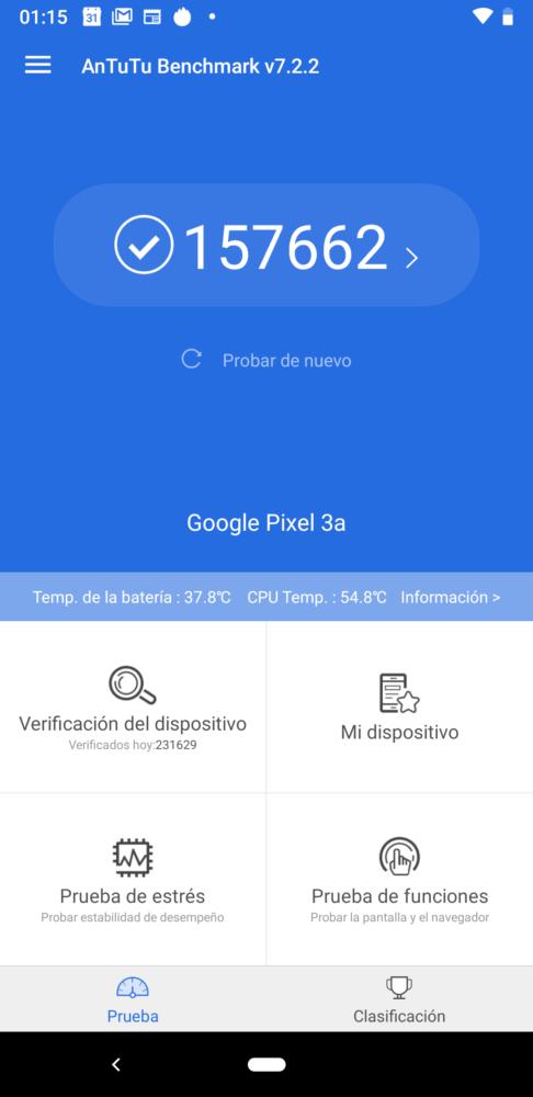 pixel 3a antutu