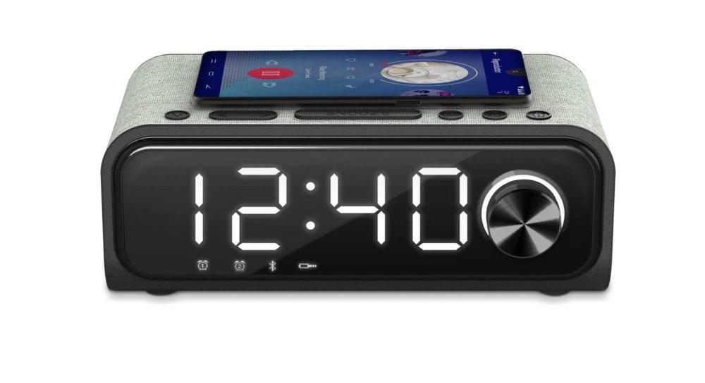 Clock Speaker 4 Wireless Charge, el reloj con carga inalámbrica de Energy Sistem 1