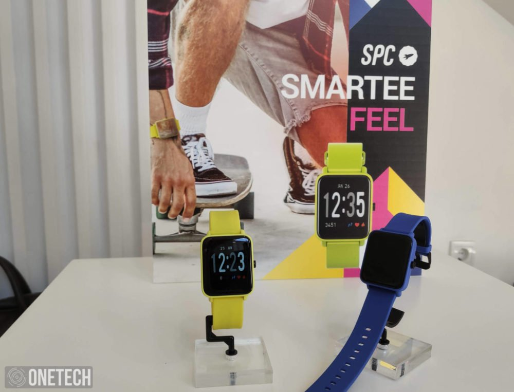 SPC presenta sus nuevos Smartee: Smartwatches y banda deportiva 1