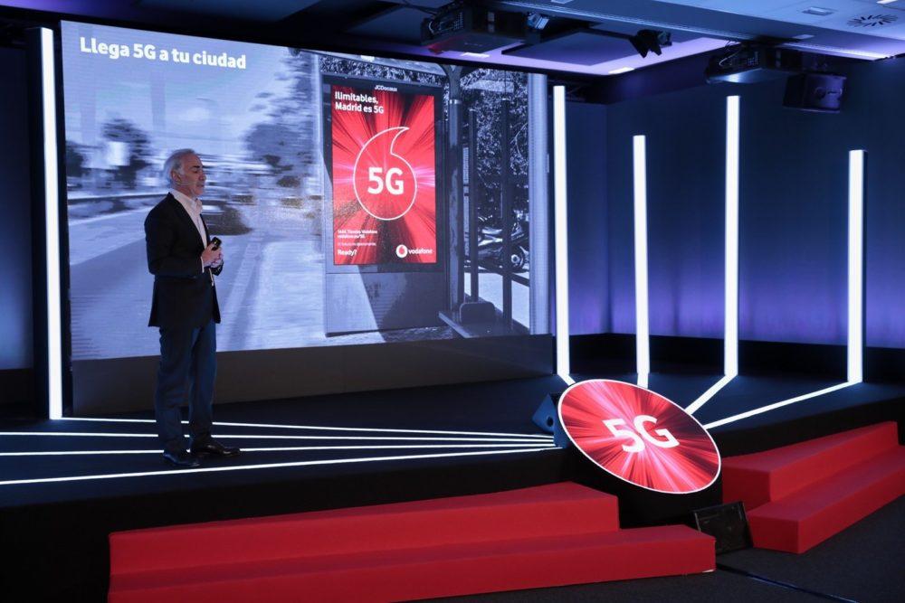 Vodafone ofrece 5G también en tarifas de prepago y Vodafone bit 1